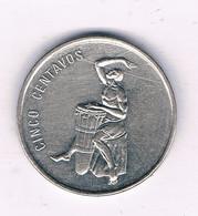 5 CENTAVOS 1989 DOMINICAANSE REPUBLIEK /7087/ - Dominicana