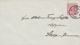 1891 KÖLN GS Umschlag Nach Stolp In Pommern - Ganzsachen