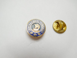 Superbe Pin's Pins En EGF , Svenska Ishockeyförbundet , Fédération De Suède De Hockey Sur Glace - Altri