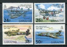 Gibraltar 1998. Yvert 827-30 ** MNH. - Gibraltar