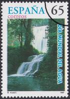 Specimen, Spain Sc2883 World Day Of Water, Fall - Protezione Dell'Ambiente & Clima