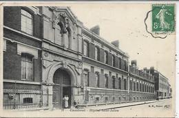 59, Nord, CAMBRAI,Hopital,  Saint-Julien, Personnages, Scan Recto-Verso - Cambrai
