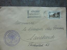 1934  Brief  SAARBRUCKEN    PERFEKT - Covers & Documents