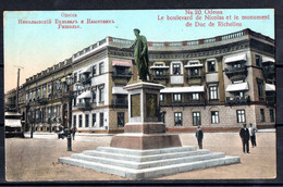 Odessa - Ukraine - Boulevard De Nicolas Et Monument Du Duc De Richelieu - Ucraina