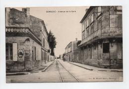 - CPA GEMOZAC (17) - Avenue De La Gare - Edition MAGNY - - Andere Gemeenten