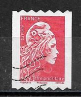 France 2018 Oblitéré Autoadhésif N° 1602A  Avec (  Philaposte )    Provenant Roulette   - Marianne L'engagée  - - 2018-... Marianne L'Engagée
