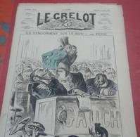 Journal Satirique Le Grelot N°262 Avril 1876 Ils S'endorment Sur Le Rôti La Gauche à L'Assemblée - 1850 - 1899