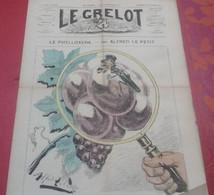 Journal Satirique Le Grelot N°188 Novembre 1874  Le Phylloxera Caricature Politique - 1850 - 1899