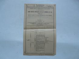 VIEUX PAPIERS - CHEMINS DE FER D'ALSACE ET DE LORRAINE... DE PARIS A ORLEANS - TARIFS 1932 - Europa