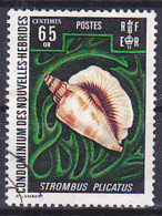 Nouvelles Hébrides, NUOVE EBRIDI, New Hebrides - 1972 - Conchiglia, Coquilla, Shell - Y&T 331 - Oblitéré, Used, Usato - - Gebruikt