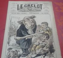 Journal Satirique Le Grelot N°297 Décembre 1876 Hélas Mes Frères Partageons - 1850 - 1899