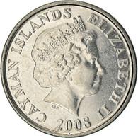 Monnaie, Îles Caïmans, Elizabeth II, 5 Cents, 2008, British Royal Mint, TTB - Cayman Islands