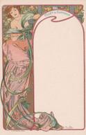 MUCHA Alphonse  : CARTE POSTALE Signée MUCHA, Pour Le Champagne MOËT Et CHANDON (Neuve) Art Nouveau, Jugendstil, - Mucha, Alphonse