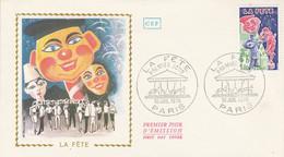 FDC 1976 LA FETE - 1970-1979