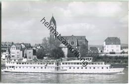 Rheinschiff Rotterdam - Fahrgastschiff - Foto-Ansichtskarte - Ohne Verlagsangabe - Passagiersschepen