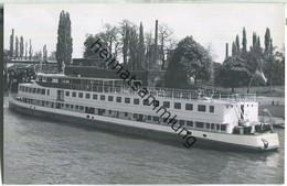 Rheinschiff - Fahrgastschiff - Foto-Ansichtskarte - Ohne Verlagsangabe - Passagiersschepen