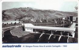 VIACARD AUTOSTRADE A1 BOLOGNA-FIRENZE AREA DI SERVIZIO CANTAGALLO 1962 - Other
