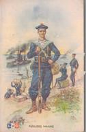 ILLUSTRATION LEON HINGRE / FUSILIERS MARINS - Regimenten