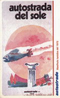 VIACARD AUTOSTRADE I MANIFESTI MANIFESTO TURISTICO DEL 1972 - Other
