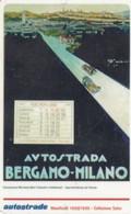 VIACARD AUTOSTRADE I MANIFESTI MANIFESTO 1920/1930 COLLEZIONE SALCE - Other