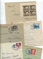 8610) 10 Belege Gesamtdeutschland - Marcofilie - EMA (Printmachine)
