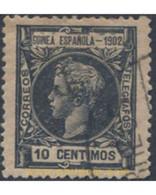 Ref. 654525 * USED * - SPANISH GUINEA. 1902. ALFONSOXIII . ALFONSO XIII - Guinée Espagnole