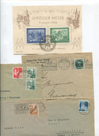 8372) 10 Belege Gesamtdeutschland - Marcofilie - EMA (Printmachine)