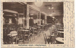 Hamburg - Lübscherbaum, Kaffeehaus Jalant, 1925 Gelaufen - Non Classés