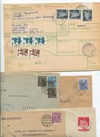 8407) 10 Belege Gesamtdeutschland - Marcofilie - EMA (Printmachine)