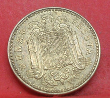 1 Peseta 1947 étoile 52 - TTB+ - Ancienne Pièce De Monnaie Espagne Collection - N20973 - 1 Peseta