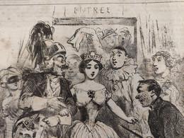 1851 LE CHARIVARI - ACTUALITÉS Par Charles VERNIER - CHOCOLAT IBLED - 1850 - 1899