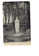 Cpa 59 - DIOCESAINE CHEMIN DE L ABBAYE - LOOS LEZ LILLE TRAMWAY H ARRET DE L HEURTEBISE Statue - Loos Les Lille