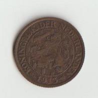 Niederlande 1 Cent 1913 Wilhelmina - 1 Cent