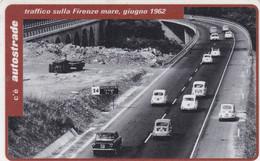 VIACARD AUTOSTRADE TRAFFICO SULLA FIRENZE MARE GIUGNO 1962 - Other