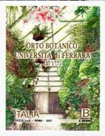 Italy - 2021 - Botanic Garden Of Ferrara University  - Mint Self-adhesive Stamp - 2011-...: Mint/hinged
