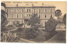 CPA HYERES - Hôtel Beauséjour - Ed. LL N°98 - Hyeres