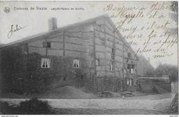 Julot1939 ..-- LAFORET ..-- Nels 40 , N° 240 ( Au Dos ) . Maison En TORCHIS . 1911 Vers CORBION . Voir Verso . - Vresse-sur-Semois