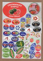 AC - FRUIT LABELS Fruit Label - STICKERS LOT #109 - Fruits & Vegetables