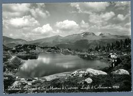 °°° Cartolina - Dolomiti - Dintorni Di S. Martino Di Castrozza Laghi Di Colbricon Viaggiata (l) °°° - Trento