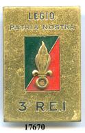 17670 . LEGION .3e RGT. ETRANGER D'NFANTERIE - Armée De Terre