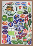 AC - FRUIT LABELS Fruit Label - STICKERS LOT #114 - Fruits & Vegetables