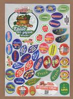 AC - FRUIT LABELS Fruit Label - STICKERS LOT #116 - Fruits & Vegetables