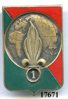 17671 . LEGION .1er RGT. ETRANGER D'NFANTERIE - Armée De Terre