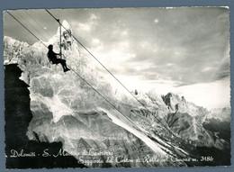 °°° Cartolina - Dolomiti - S. Martino Di Castrozza Seggiovia Del Coston Di Rolle Col Cimone Viaggiata (l) °°° - Trento