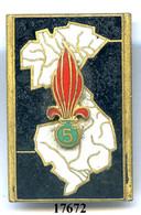 17672 . LEGION .5e RGT. ETRANGER D'NFANTERIE - Armée De Terre