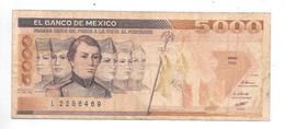*mexico 5000 Pesos 1987  88b - Mexico