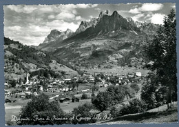 °°° Cartolina - Dolomiti - Fiera Di Primiero Col Gruppo Delle Pale Viaggiata (l) °°° - Trento