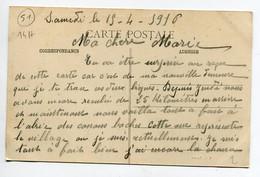 51 MARSON Jardinier Et Son Arrosoir Depuis Le CAFE Vallery Guiborat Sucesseuur écrite 1916   D13 2019 - Andere Gemeenten