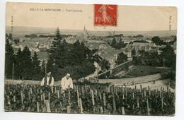 51 RILLY La MONTAGNE Viticulteurs Dans Leur Vigne Vue Haute Village Edit A Jobert 1907 écrite Timb    D13 2019 - Rilly-la-Montagne