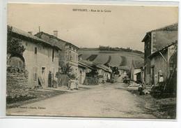 55 SEPVIGNY Carte RARE Rue De La Croix Villageois Devant Leurs Maisons Editeur Claude  1920   D13 2019 - Other Municipalities